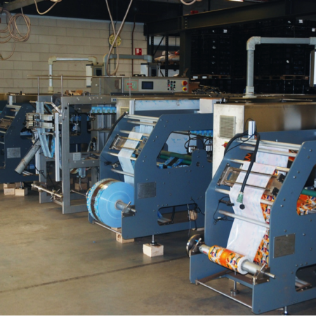 production of seedpackets